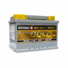 @АКБ BRISK GOLD BCG 060L (пп) - New 600 п.т.