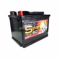 АКБ SPARK 6ст-60VL3 SPA60A3-L 12В 60 а/ч 460 п.т. конус п.п. г.Свирск #
