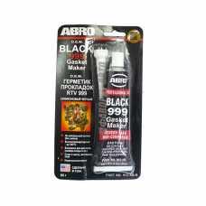 Герметик прокладок ABRO ОЕМ 999 (черный) 85 г 912-АВ #