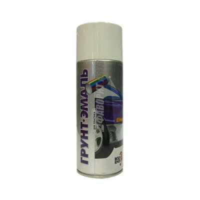 КU-6004 Грунт-эмаль для пластика графит  (520 мл) (RAL 7021)