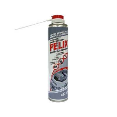 Очист. карб  FELIX    400мл (аэр)