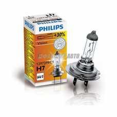 Лампа H7 12V- 55W (PX26d) ( +30% света) Vision (Premium) Philips [12972prc1] #