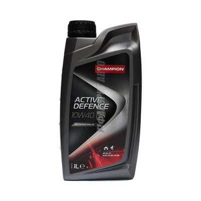 Масло CHAMPION ACTIVE DEFENCE 10w40 1 л.#