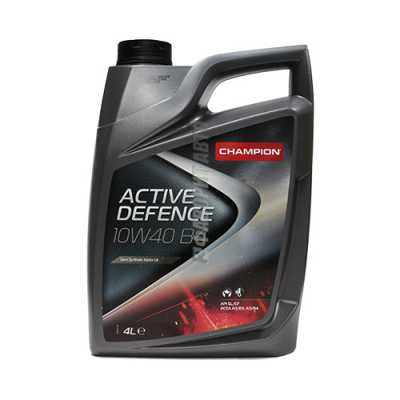 Масло CHAMPION ACTIVE DEFENCE 10w40 4 л.#