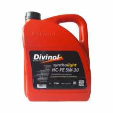 DIVINOL Syntholight  HC-FE 5w-30 API SN, ACEA C3,MB 229.51 BMW LL-04 синт. 4л.#