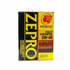 @IDEMITSU Zepro Diesel SAE 5W-40 (4л) FIA-8898-6L4L