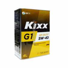 KIXX G1 5W-40 SN Plus SN/CF  4 л синт #