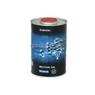 FF 6712 for SUBARU 5W30 API SM 1л ж/б масло моторное 10009230/150916/0005650/2 #