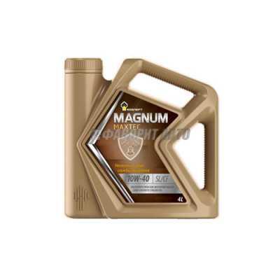 РОСНЕФТЬ Magnum Maxtec 10*40 SL/CF 4л (Maximum 10*40 SL/CF,Magnum Super 10*40)#