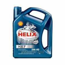 SHELL Helix HX7 5*40   4л п/с синий (Plus extra) #