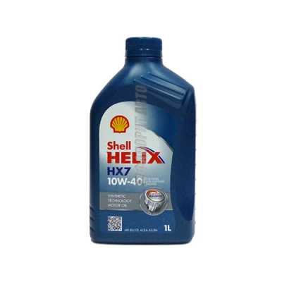 SHELL Helix HX7 10*40   1л синий (PLUS) #