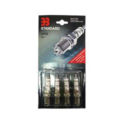 Свеча зажигания  для газ. обор./уп 4 шт./ LPG6 (ВАЗ 2112 , 16 v)    Энгельс #